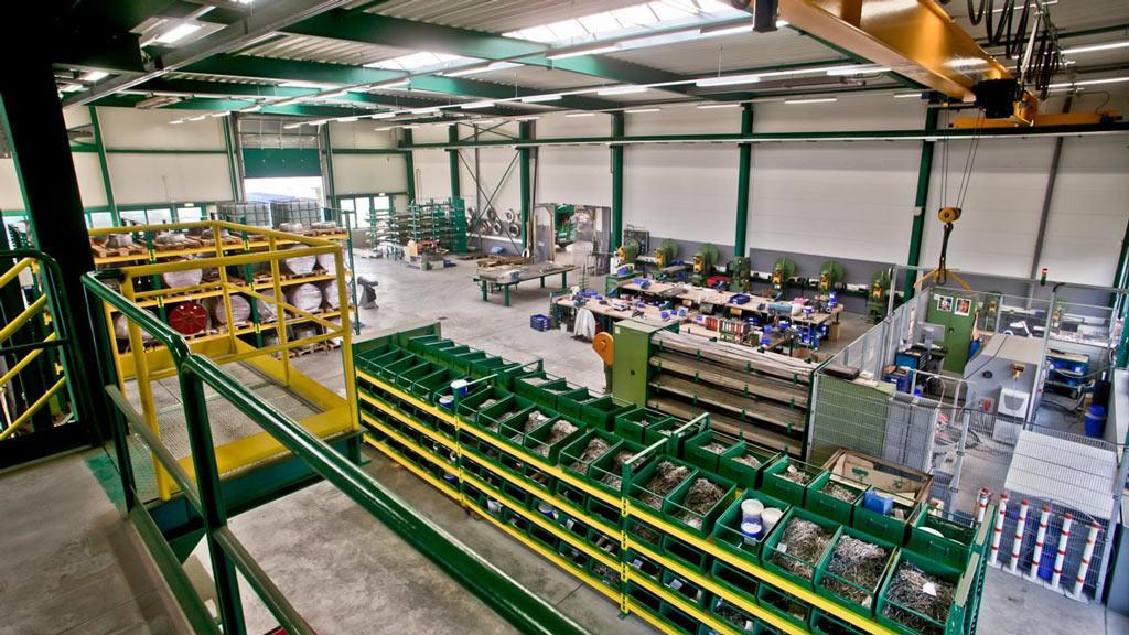 Produktion Halle 1 am Piepersberg